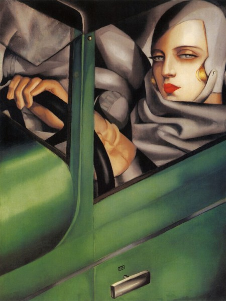 TAMARA-DE-LEMPICKA-SELF-PORTRAIT-IN-THE-GREEN-BUGATTI-771x1024