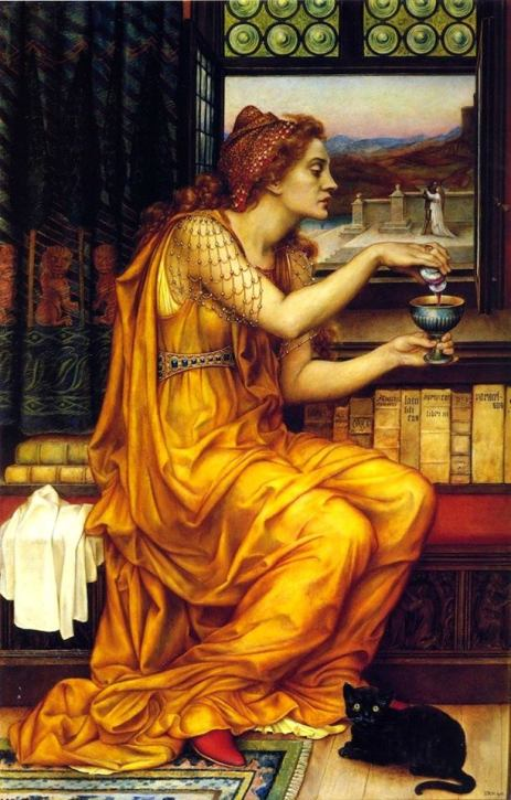 'The love potion' di Evelyn De Morgan (1903)