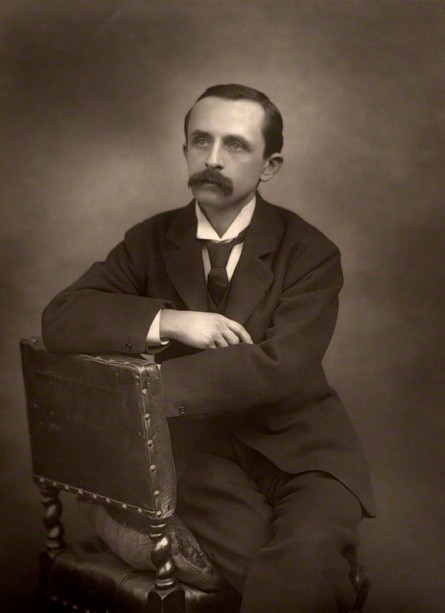 NPG x5161; J.M. Barrie by Herbert Rose Barraud